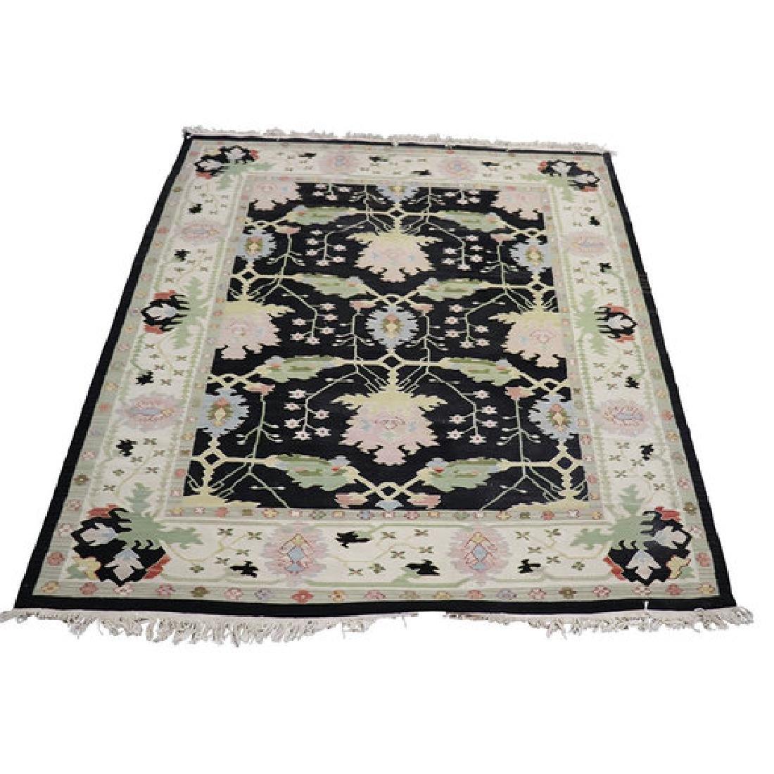 20th Century Handwoven Kilim Carpet Rug