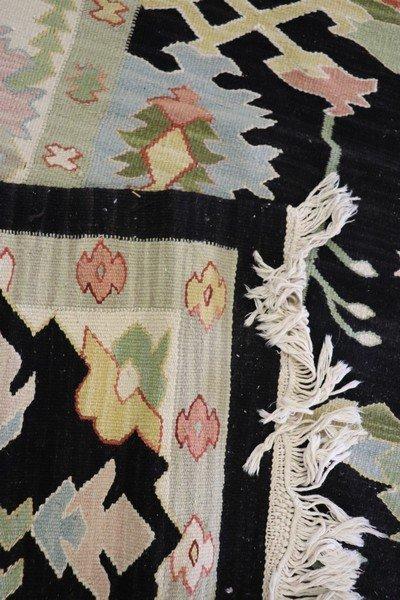 20th Century Handwoven Kilim Carpet Rug - 2