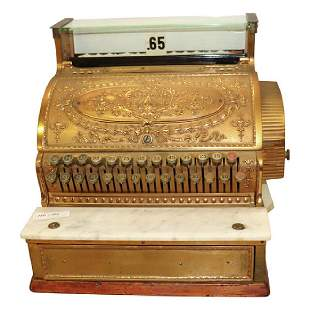 Antique Cash Register by National
