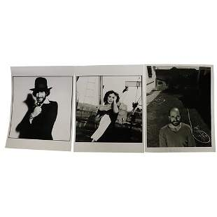 3 BW PHOTOGRAPHS BY ARNOLD NEWMAN