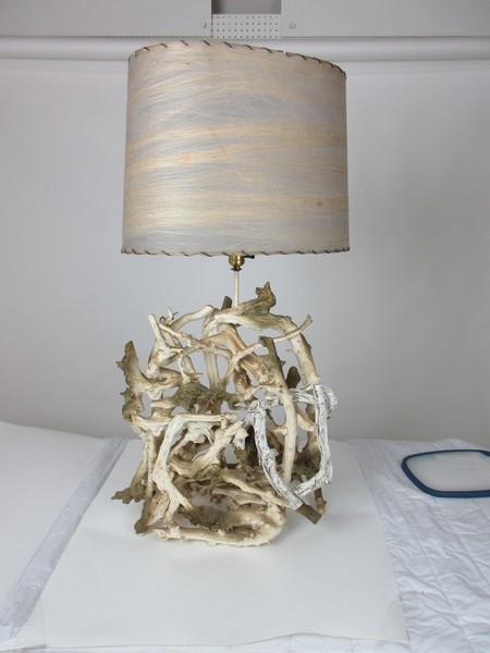 Driftwood Teak Lamp
