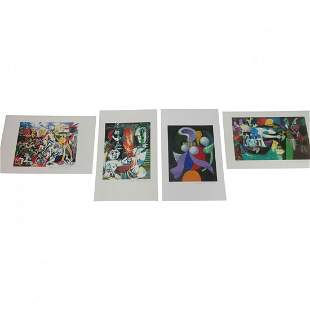 (4) Collection of Domain Picasso Lithograph