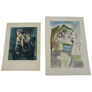 2 Picasso Lithographs