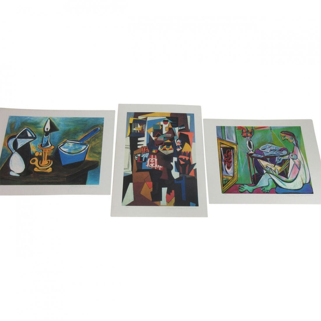 A Collection of  (3) Domain Picasso lithographs