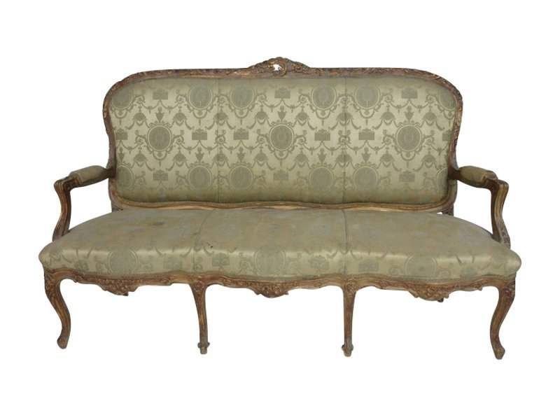Fine French Louis XV Style Settee