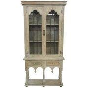 Large 2 Door Country Style  Display Cabinet