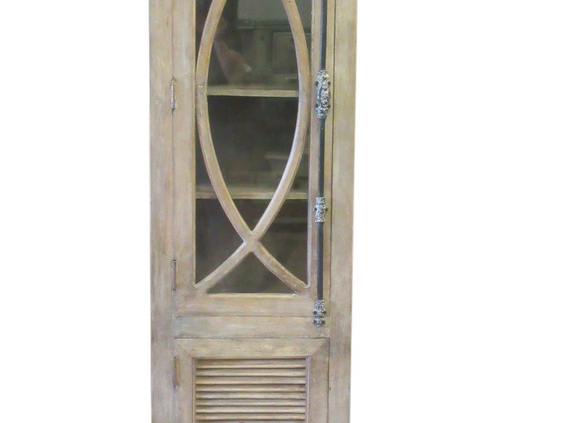 Country French style single door cupboard over a