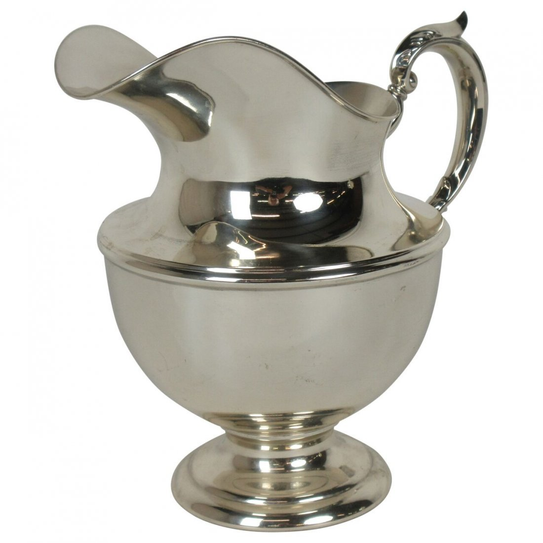 Stunning Sterling Silver Pitcher by Fisher