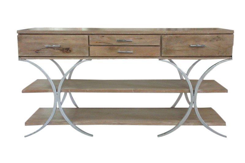Large Modern Wood Sideboard or Credenza