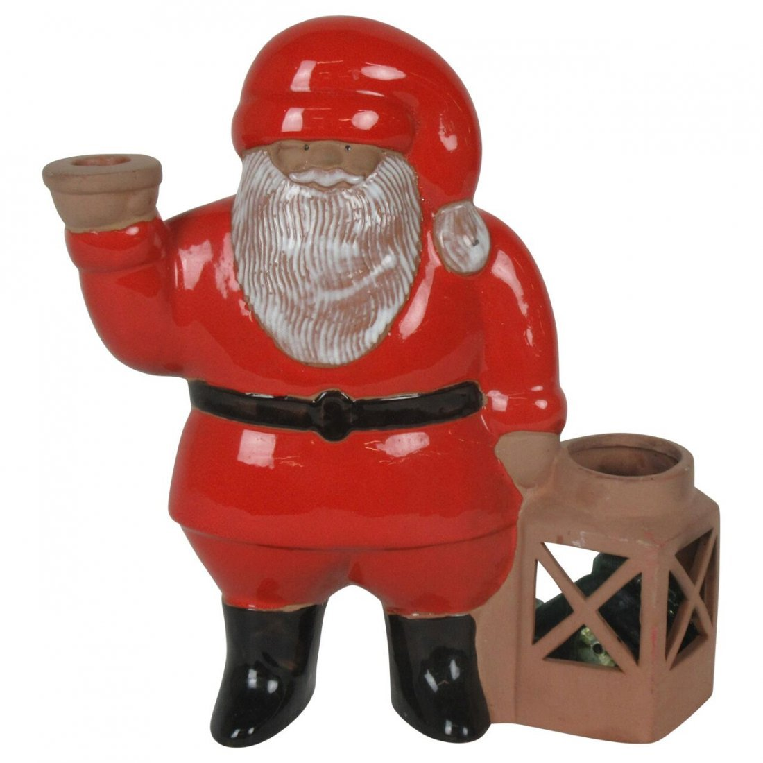 Swedish Pottery Santa Jie by Lisa Larson
