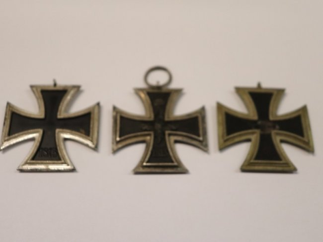 3 Iron Cross Medals