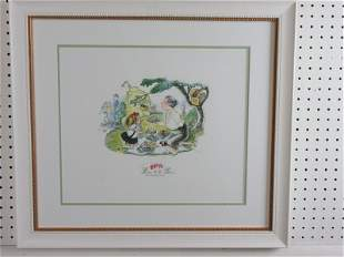 Eloise SIGNED Hilary Knight Lithograph