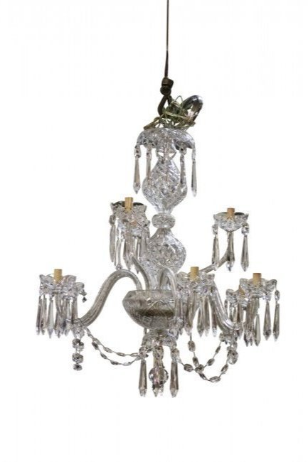 WATERFORD SIGNED CRYSTAL CHANDELIER