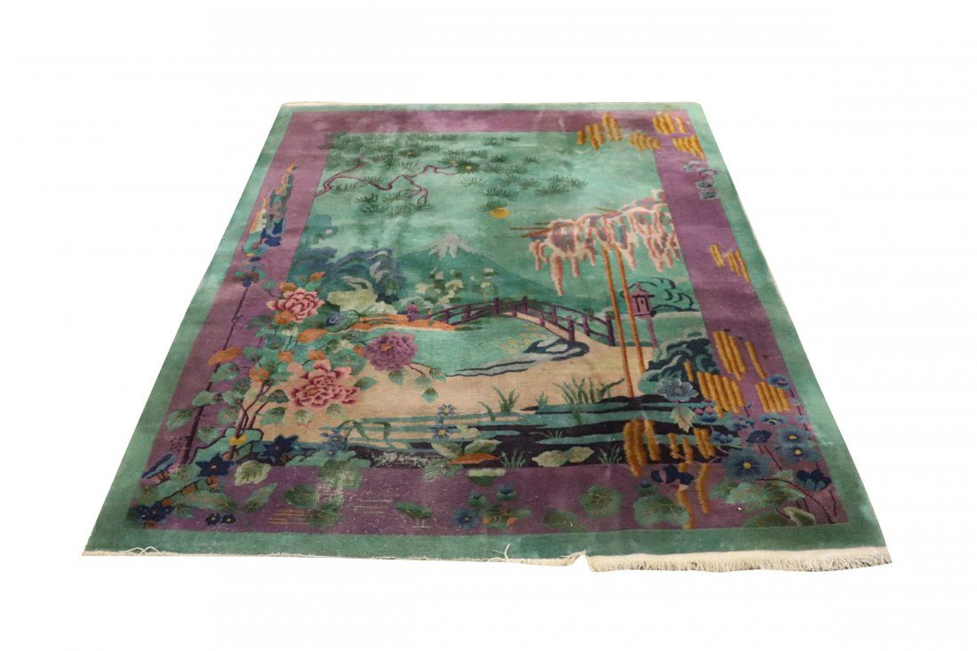 NICHOLS ART DECO CHINESE CARPET