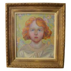 SIR MATTHEW ARNOLD BRACY  SMITH (GIRL WITH RED HAIR)