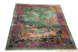 CHINESE ART DECO NICHOLS CARPET