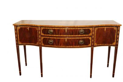 Exceptional Inlaid Federal Syle Sideboard