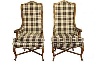 Pair of Country French Arm Chairs