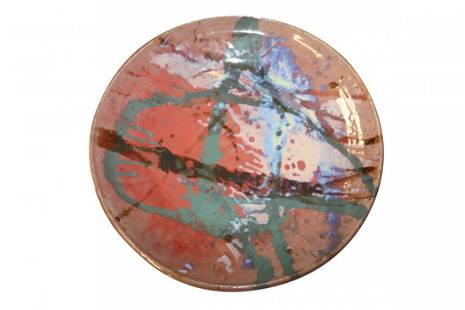 Large Ceramic Art Bowl