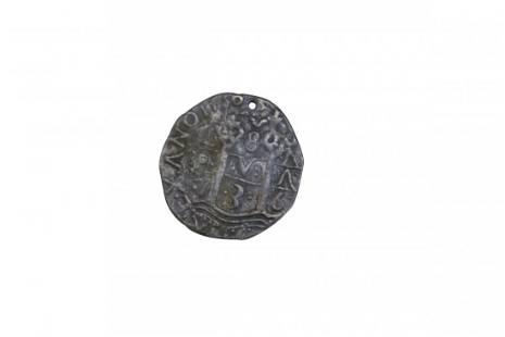Rare 17th Century Spanish Silver Coin