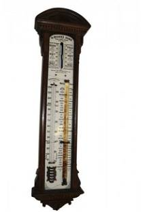 Antique H. Muhr's Sons Philadelphia Barometer