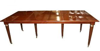 Attributed To Maison Jansen Fine Extension Dining Table
