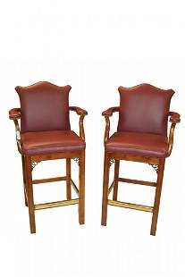 Beautiful Chippendale Stools by Century Chair Company
