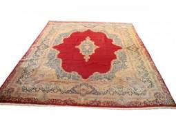 Antique Persian Kirman Palace Carpet.