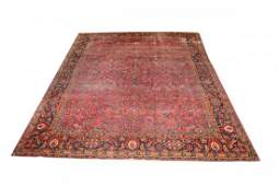 Antique Persian Room Size Sarouk
