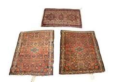 3 Vintage Persian Karaja Rugs