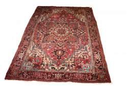 Vintage Persian Heriz Room Size Rug