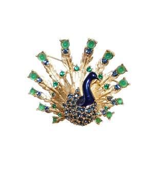 Beautiful Vintage Boucher Peacock