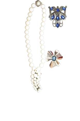 Miriam Haskell, Trifari &  Costume Jewelry