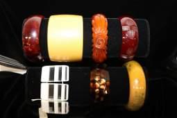 Great 7 Piece Vintage Bracelet. Bakelite
