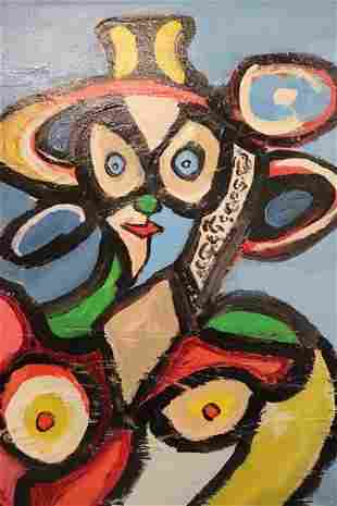Rocco Monti Modern Abstract Portrait