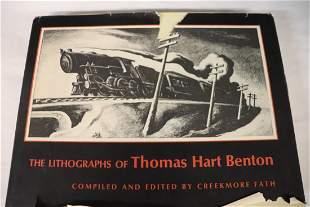 Thomas Hart Benton Lithograph Book