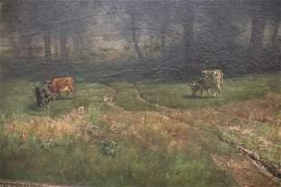 Hermann Pohle Signed Landscape