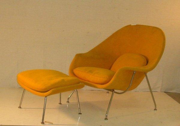 8: Eero Saarinen/Knoll Womb Chair