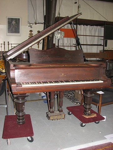 63: Steinway and Sons Concert Grand Piano