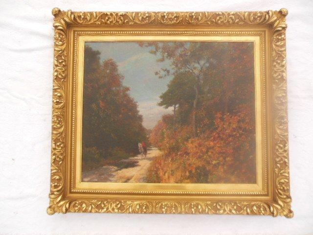 Corwin Linson Oil on Canvas