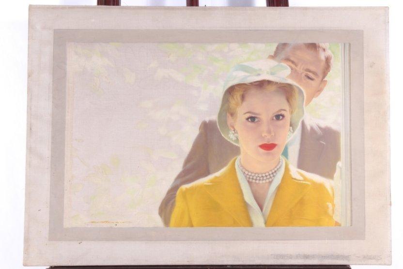 Robert G. Harris O/C Illustration of Grace Kelly