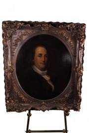 Important Portrait of Ben Franklin by Albert Rosenthal
