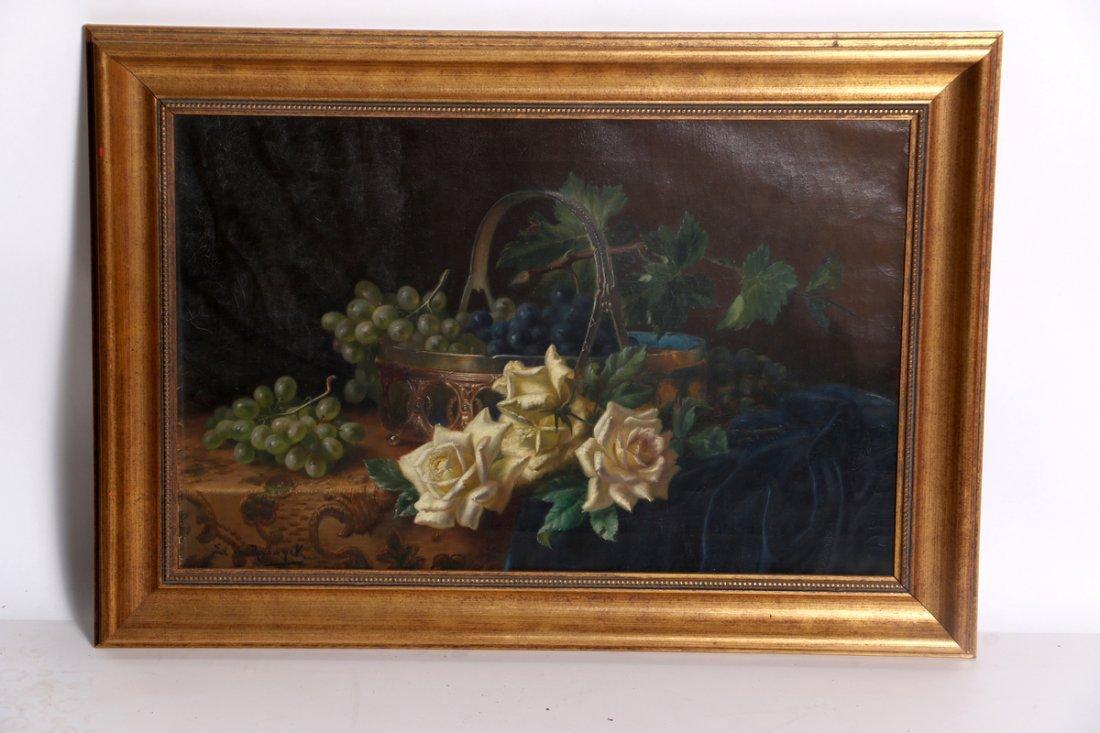 Edward van Ryswyck  Oil on Canvas