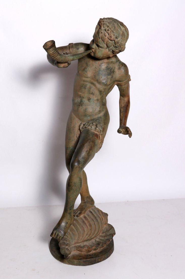 Life size Nautical Mythological Bronze Statue