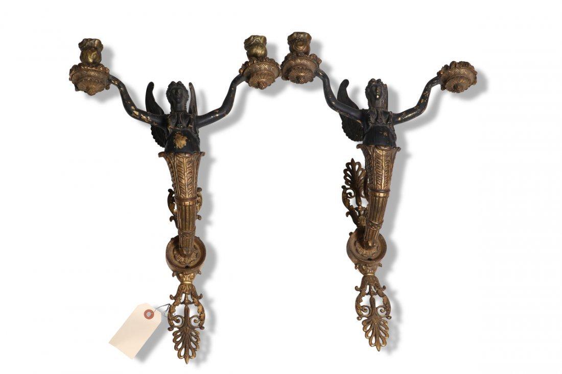 Antique Mythological Sconces