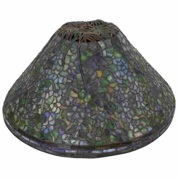 Bailey Banks Leaded Stained Glass Shade Anthony Hart?