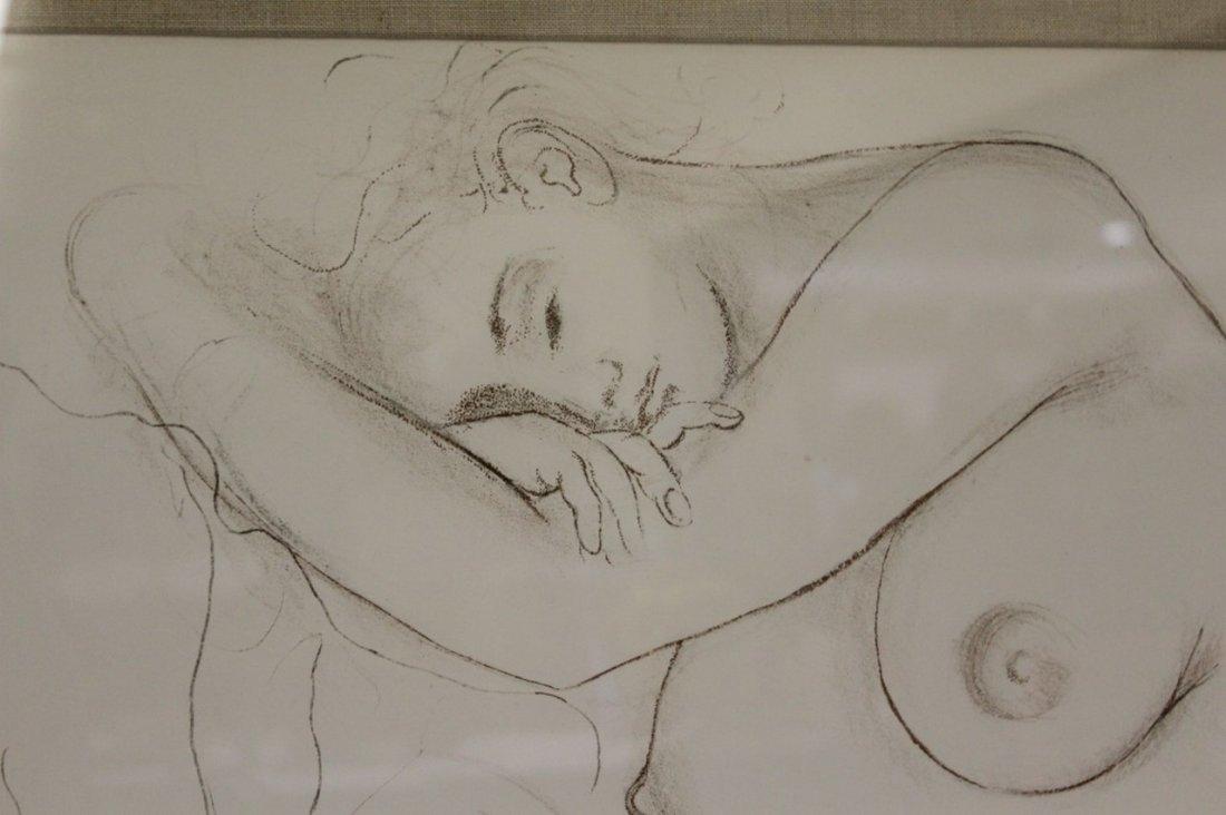 "Salvador Dali ""Nude Sleeping Woman"" Lithogrpah - 3"