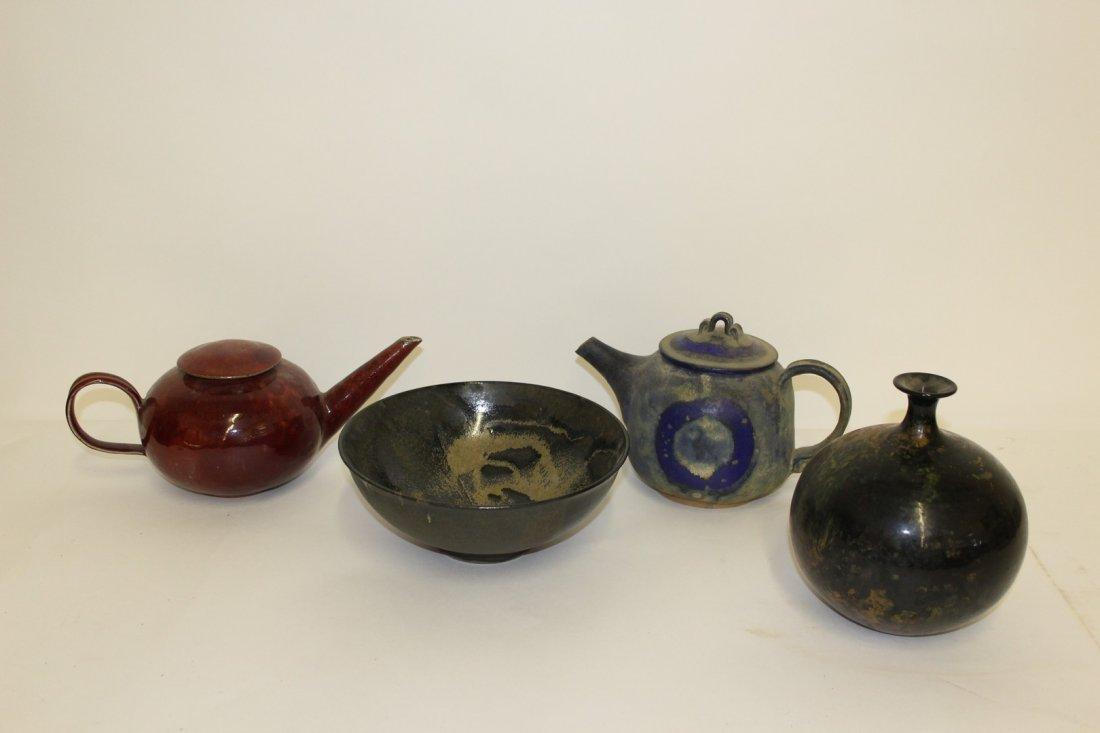 Mid Century Modern Studio Pottery