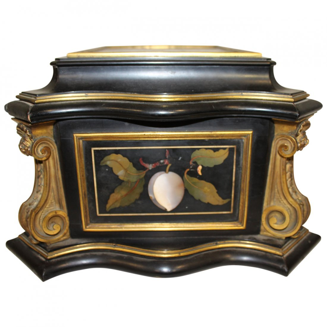 19th century Pietra Dura Casket - 2
