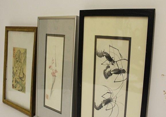 Group of Asian Watercolors
